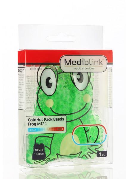MEDIBLINK Cold/Hot pack beads Frog  10,5 x 11,5 cm M124
