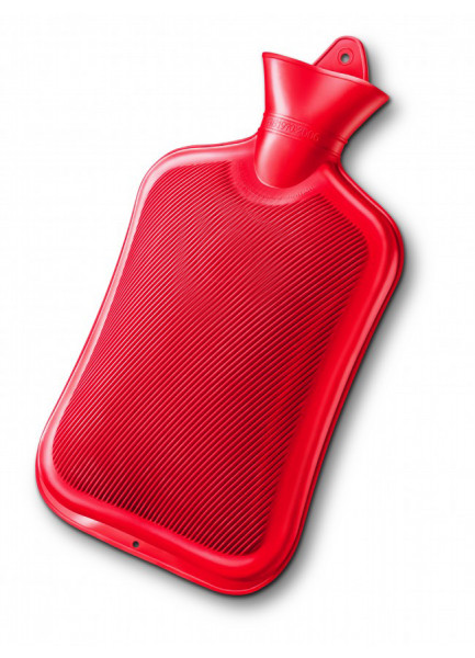 MEDIBLINK Hot Water Bottle 2L, Red M100