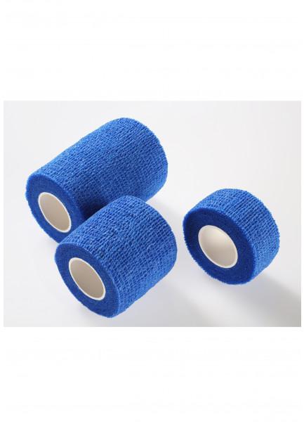 MEDIBLINK Self-adherent bandage, 7,5 cm x 4,5 m, blue M145