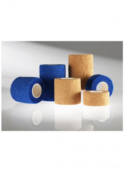 MEDIBLINK Self-adherent bandage, 2,5 cm x 4,5 m, blue